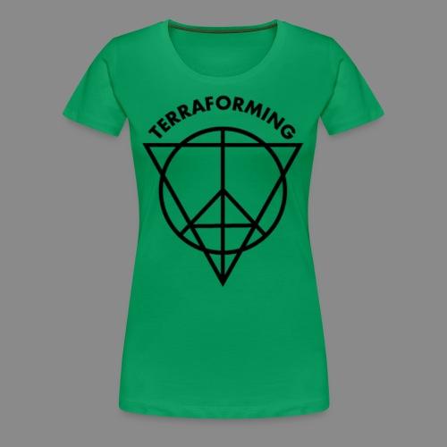 TERRAFORMING - Frauen Premium T-Shirt