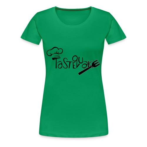 TasteQuake Logo - Frauen Premium T-Shirt