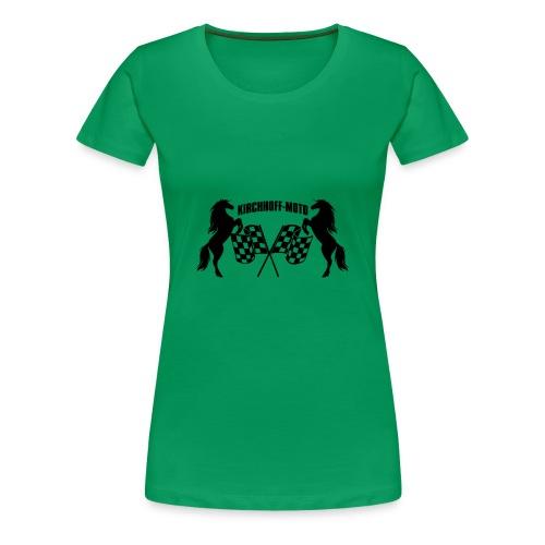 K M gross neutral - Frauen Premium T-Shirt