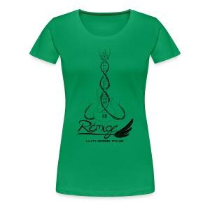 Logo Rémige art Fantasy noir - T-shirt Premium Femme