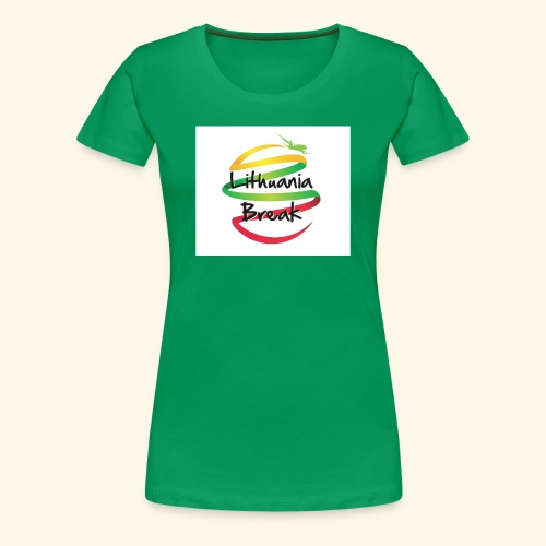 Lithuania Break - Women's Premium T-Shirt