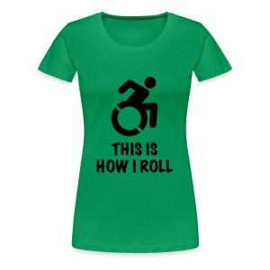 howiroll - Vrouwen Premium T-shirt