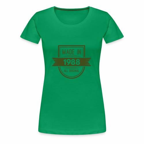 1988 olive - Vrouwen Premium T-shirt