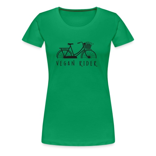 Vegan Rider - Frauen Premium T-Shirt