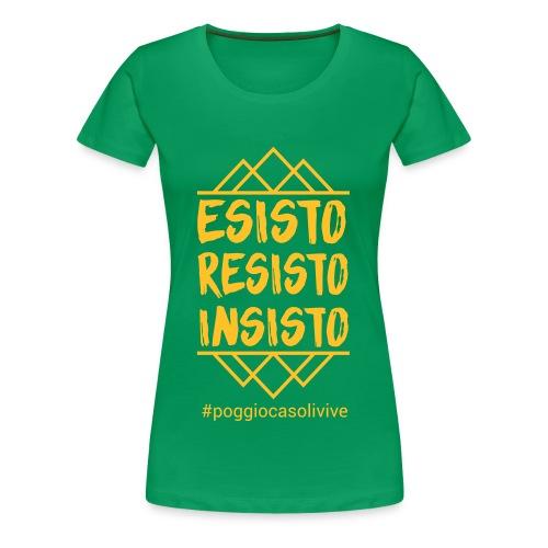 patch resisto - Maglietta Premium da donna