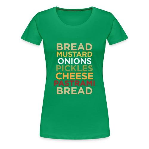 Pastrami sandwich - Women's Premium T-Shirt
