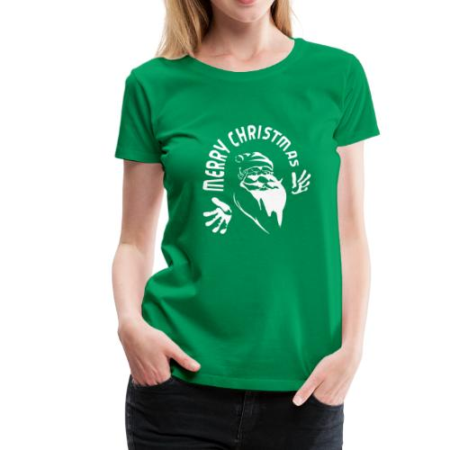 Merry Christmas ✫T-Shirt ✫ Santa Claus - Frauen Premium T-Shirt