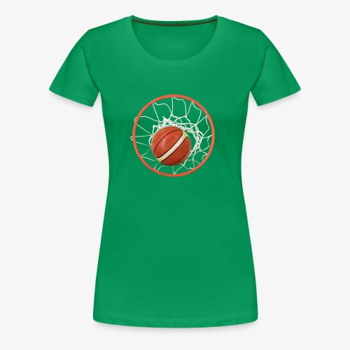Baloncesto - Camiseta premium mujer