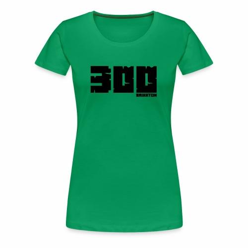 BrixxtoN 300 Abo Schwarz - Frauen Premium T-Shirt