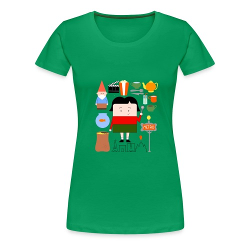 La Petite Amélie completa - bag - Camiseta premium mujer