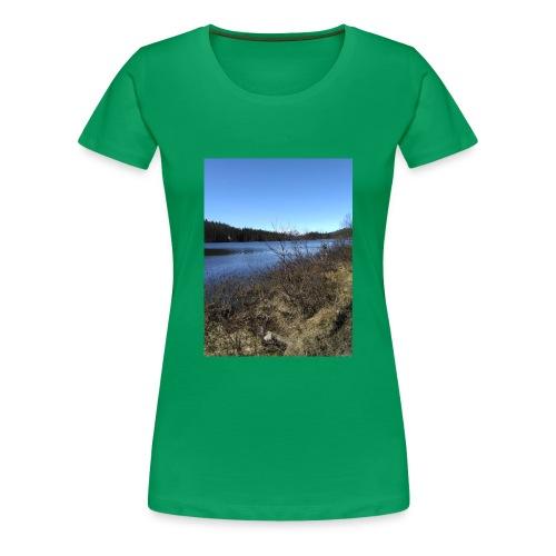 Fjelltur - Premium T-skjorte for kvinner
