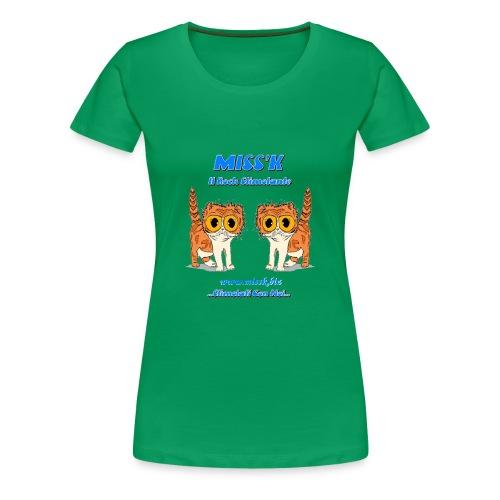 MissK Merchandising - Maglietta Premium da donna
