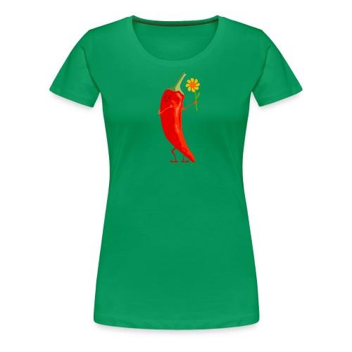 Mrs. Chili - Frauen Premium T-Shirt