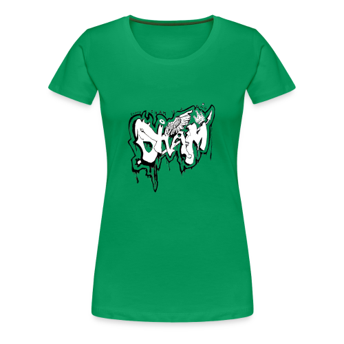 SHAM Official Graffiti T-Shirt Black - Women's Premium T-Shirt