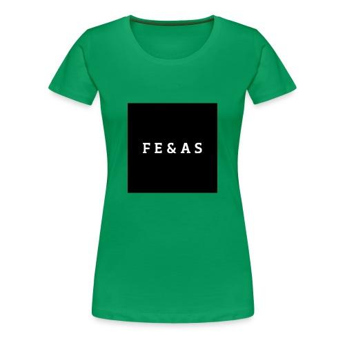 FEAS WHITE T-SHIRT - Vrouwen Premium T-shirt