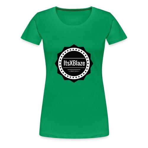 ItsXBlaze Logo 2 Hoodie - Vrouwen Premium T-shirt