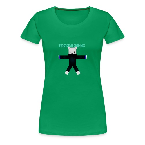 SuperDragonGames - Vrouwen Premium T-shirt