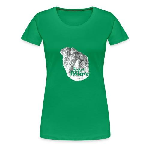 Heart - Rocked by Nature - Premium-T-shirt dam