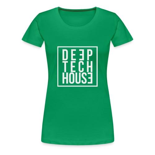 Deep Tech House by HouseMixRoom RadioShow - Camiseta premium mujer