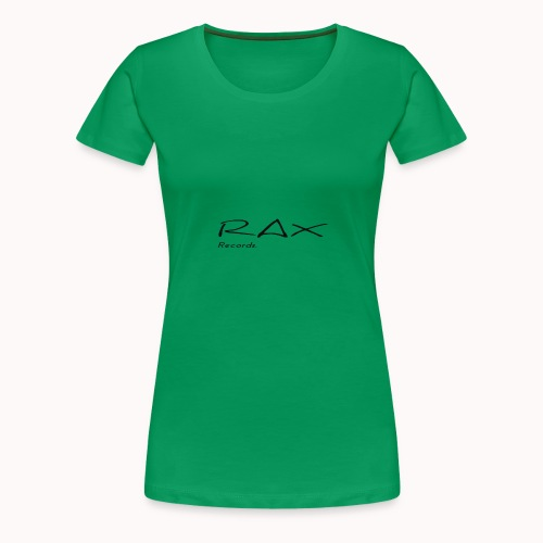 Rax Records merch. vrouwen - Vrouwen Premium T-shirt
