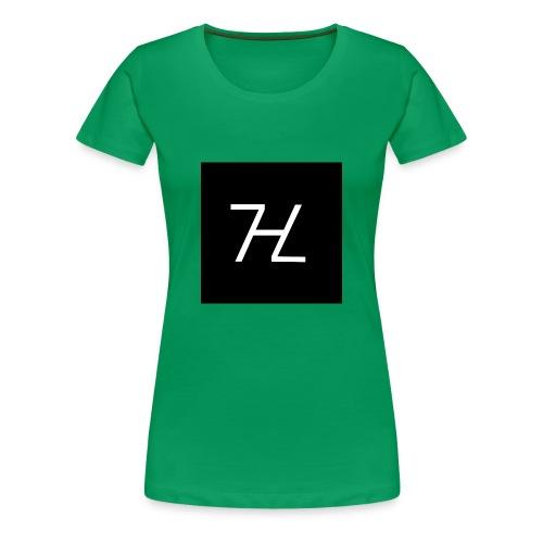 Halle7 Logo - Frauen Premium T-Shirt