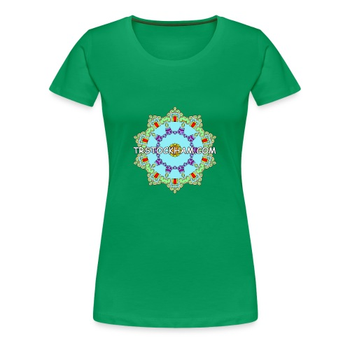 Enjoyably Quirky Colouring Book Design 9 - Women's Premium T-Shirt