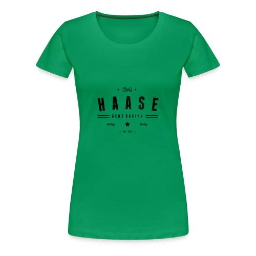 Chris Haase / Gen2 Racing Karting Racing - Frauen Premium T-Shirt