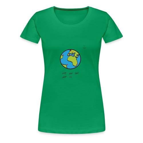 Mappemonde - T-shirt Premium Femme