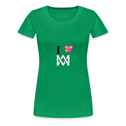 M M keps - Premium-T-shirt dam