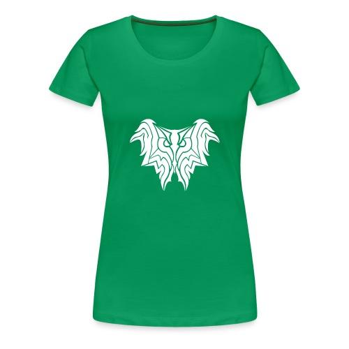 Insane Reactionz Logo weiß - Frauen Premium T-Shirt
