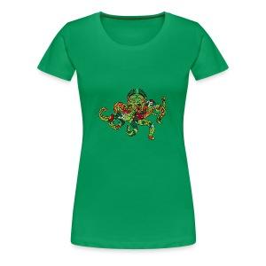 Ośmiornica - Koszulka damska Premium
