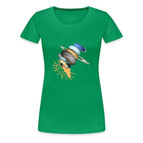 GalaktischesEis - Frauen Premium T-Shirt