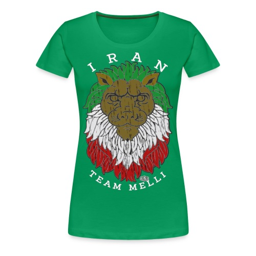 TEAM MELLI IRAN W - Frauen Premium T-Shirt