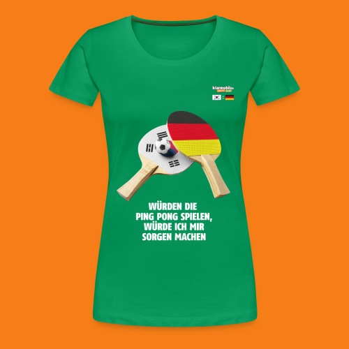 Korea Shirt - Frauen Premium T-Shirt