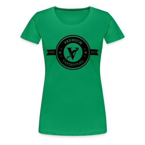 Premium Vaperstore Logo Schwarz - Frauen Premium T-Shirt