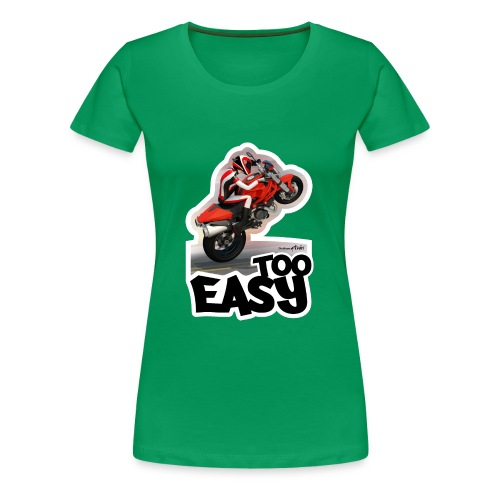 Ducati Monster Wheelie A - Camiseta premium mujer