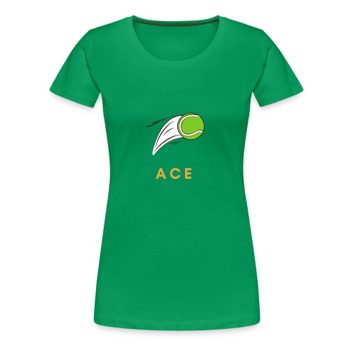 ACE Ass Tennis - Frauen Premium T-Shirt