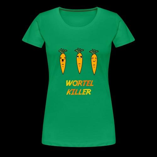 Wortel Killer [Kids Premium T-Shirt] - Vrouwen Premium T-shirt
