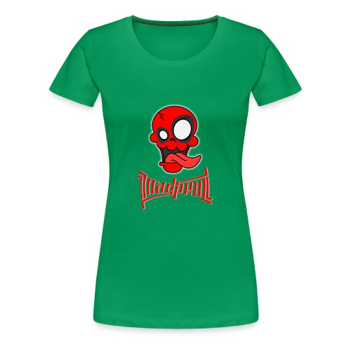 MAD SKULL - Deadpool - Maglietta Premium da donna