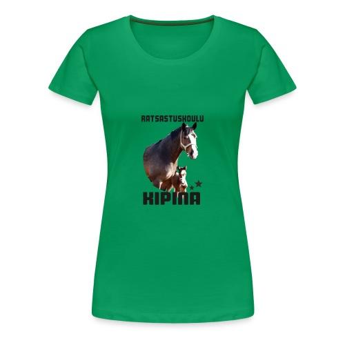 Kipinän t-paita - Naisten premium t-paita