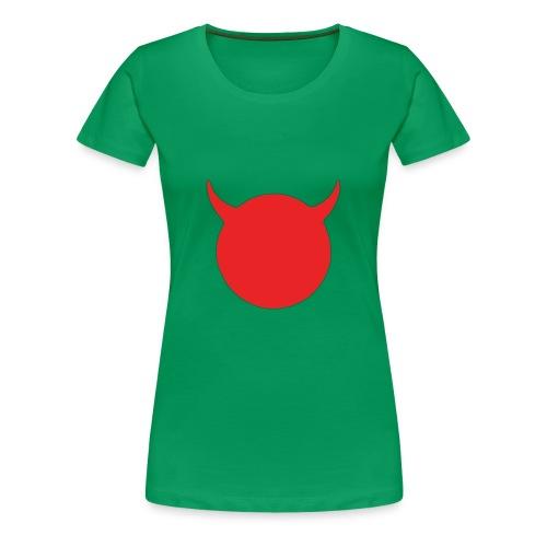 diable tete - T-shirt Premium Femme