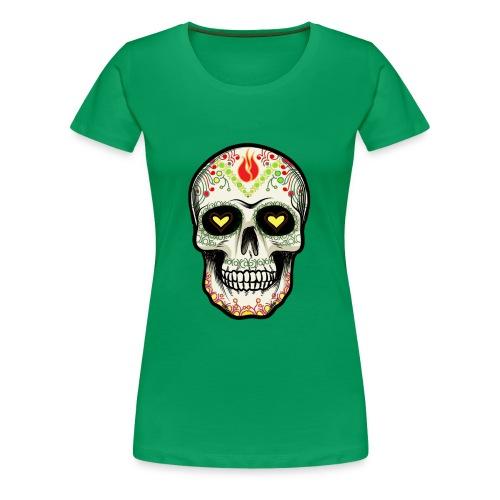 TETE DE MORT 1 - T-shirt Premium Femme