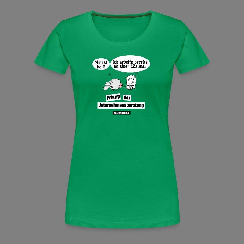 Unternehmensberatung - Frauen Premium T-Shirt