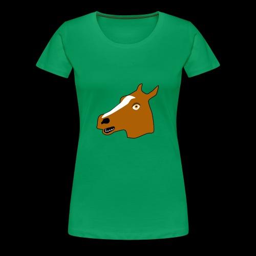 PaardenKOP - Vrouwen Premium T-shirt
