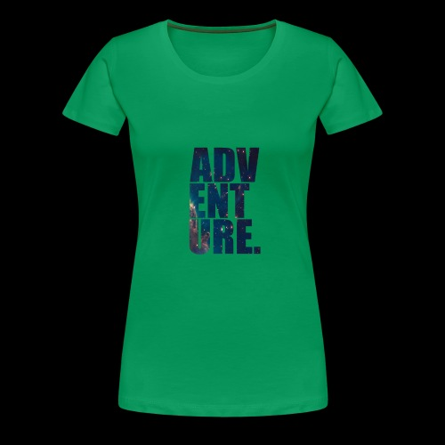 Adventure T-Shirt - Premium T-skjorte for kvinner