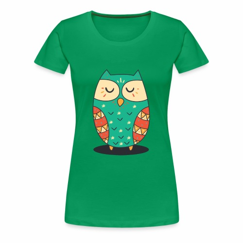 Cute Owl - Frauen Premium T-Shirt