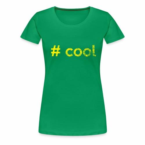 # cool jellow - Frauen Premium T-Shirt