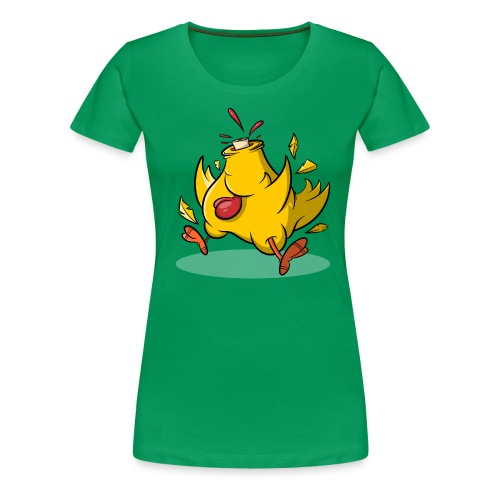 Kopflos - Verrücktes Huhn ohne Kopf - Frauen Premium T-Shirt