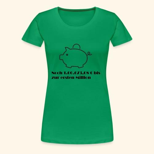 Sparschweinchen - Frauen Premium T-Shirt