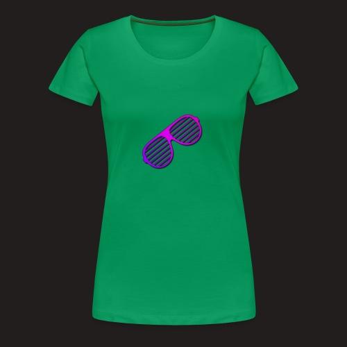 Brille - Frauen Premium T-Shirt